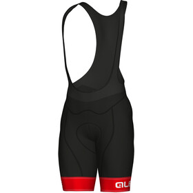 Alé Cycling Graphics PRR Sella Bib Shorts Herre red-white